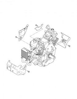 エンジンの分解図を作成