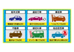 車チラシ素材